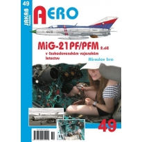 Jakab Aero MiG-21PF/PFM v československém vojenském letectvu 2.díl
