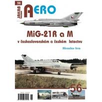 Jakab Aero MiG-21 R a M v československém a českém vojenském letectvu