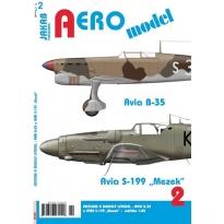 """Jakab Aero Model Avia B-35 a Avia S-199 """"Mezek"""""""