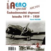 Jakab Aero Special Československá dopravní letadla 1919-1939