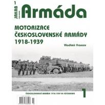 Jakab Armada Motorizace československé armády 1918-1939