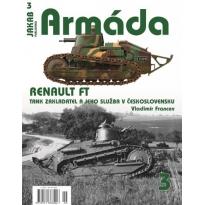 Jakab Armada Renault FT, Tank zakladatel a jeho sluzba v Československu