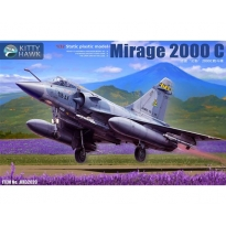 Mirage 2000 C with 1 pilot figure (1:32)