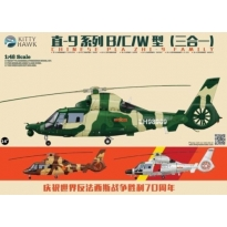 Chinese PLA ZHI-9 Family (1:48)