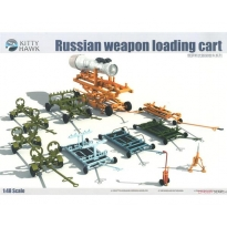 Russian Weapon loading cart (1:48)