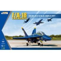 F/A-18A/B/C/D Blue Angels 2017 (1:48)