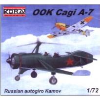 Autogiro Kamov CAGI A-7 (1:72)