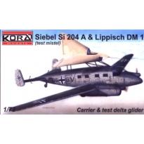 Siebel Si 204 A/Lippisch DM-1 (1:72)