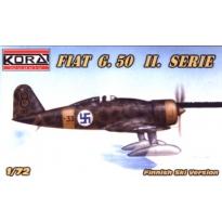 Fiat G.50 II.serie Ski version - konwersja (1:72)