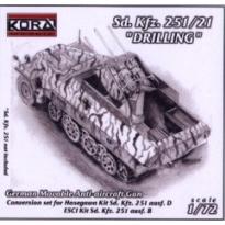 Sd. Kfz. 251/21 Drilling (1:72)