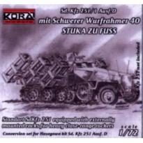 Sd.Kfz251/1Ausf.D Wurfahmer 40 (1:72)
