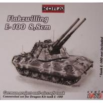 Flakzwilling E-100 (1:72)