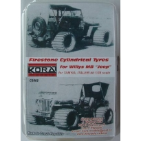 Firestone Cylinrical Tyres Jeep (1:35)