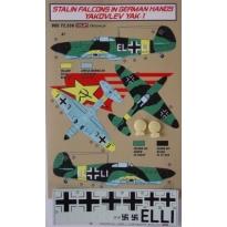 Yakovlev Yak-1 Luftwaffe + kola (1:72)