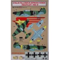 Yakovlev Yak-9 Luftwaffe + kola (1:72)