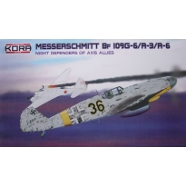 "Messerschmitt Bf-109G-6/R-3/R-6 ""JG 301/2 Night defenders"" (1:72)"