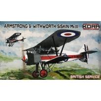 Armstrong & Withworth Siskin Mk.III British Service (1:72)
