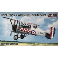 Armstrong & Withworth Siskin Mk.IIIDC British Service (1:72)