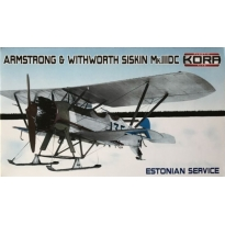 Armstrong & Withworth Siskin Mk.IIIDC Estonian Service (1:72)