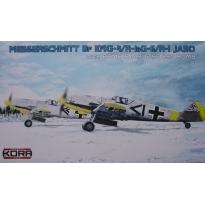 Messerschmitt Bf-109G-4/R-1 & G-6/R-1 Jagdbomber 1x250 (1:72)
