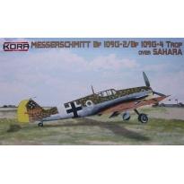 """Messerschmitt Bf-109G-2/Trop & G-4/Trop """"Over Sahara"""" (1:72)"""