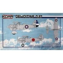 Dewoitine D.27 Asian service (1:72)