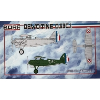 Dewoitine D.53C.I. French Service (1:72)