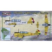 Curtiss Wright SNC-1 Falcon in Latin American service Part I (1:72)