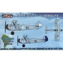 Focke Wulf fw 44J Argentina & Chile service (1:72)