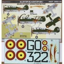 Gloster Gladiator Mk.I Belgian AF (1:32)