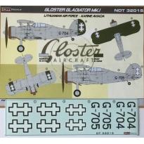 Gloster Gladiator Mk.I. Lithuanian AF (1:32)