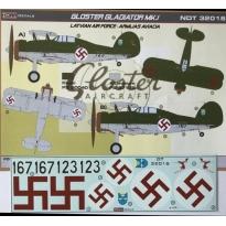 Gloster Gladiator Mk.I. Latvian AF (1:32)