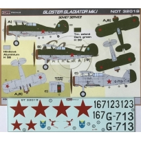 Gloster Gladiator Mk.I. Soviet service (1:32)