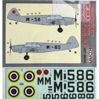 Messerschmitt Bf 108B Taifun Machukuo Aviation Corps (1:32)