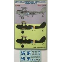 De Havilland DH-60X (Cirrus I) (1:72)
