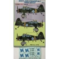Westland Lysander Mk.I Finnish service pt.1 (1:72)