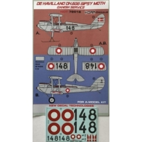 De Havilland DH-60G Gipsy Moth Danish service (1:72)