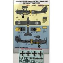De Havilland DH-60GIII Moth Major Luftwaffe service (1:72)