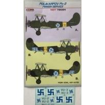Polikarpov Po-2 Finnish service (1:72)