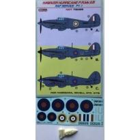 Hawker Hurricane PR Mk.IIB Part 1 (RAF Service) (1:72)