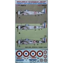 Nakajima Ki-43 Hayabusa French AF over Indochina part II (1:72)
