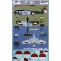 Nakajima Ki-43III Hayabusa Indonesian AF (1:72)