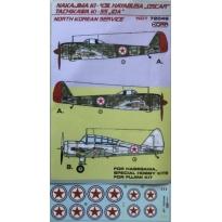 Nakajima Ki-43III Hayabusa /Tachikawa Ki-55 Ida North Korean AF (1:72)