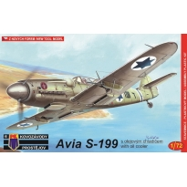 """Avia S-199 """"With oil cooler"""" (1:72)"""