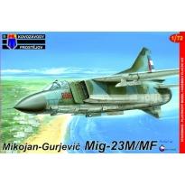 Mikojan-Gurjevic Mig-23M/MF (1:72)