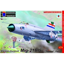 "Mikoyan-Gurjevic Mig-21BIS ""Fishbed"" Part I.(1:72)"
