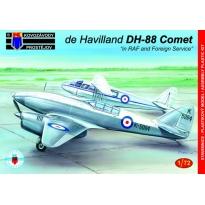 "de Havilland DH-88 Comet ""in RAF & Foreign Service"" (1:72)"