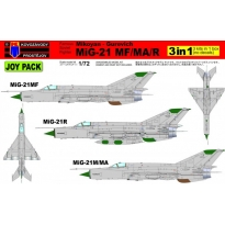 """MiG-21MF/MA/R 3in1 """"Joy Pack"""" (1:72)"""