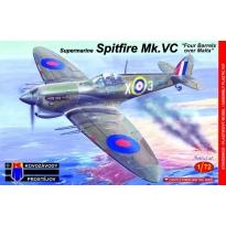 """Supermarine Spitfire Mk.VC """"Four Barrels over Malta"""" (1:72)"""