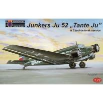 """Junkers Ju 52 """"Tante Ju"""" in Czechoslovak service (1:72)"""